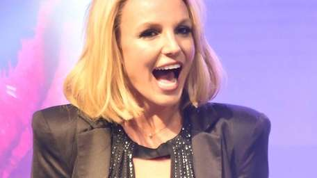 Singer Britney Spears attends a