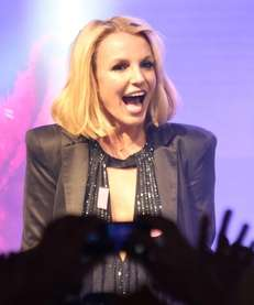 """Singer Britney Spears attends a """"Britney Day"""" event"""