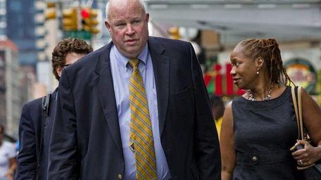 MTA chairman and chief executive Thomas Prendergast, seen