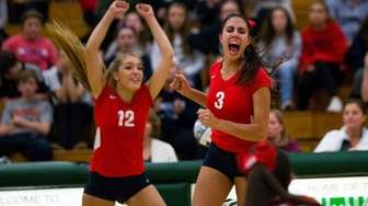 The South Side Cyclones' Mary Shabbir cheers as