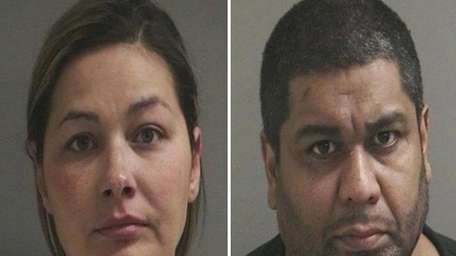 Tara Nieminski, 33, left, and Alejandro Leguillow, 44,
