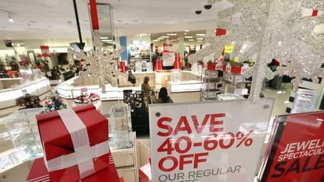 Shoppers take advantage of big sales at the