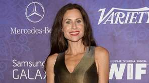 Minnie Driver arrives at Variety and Women in