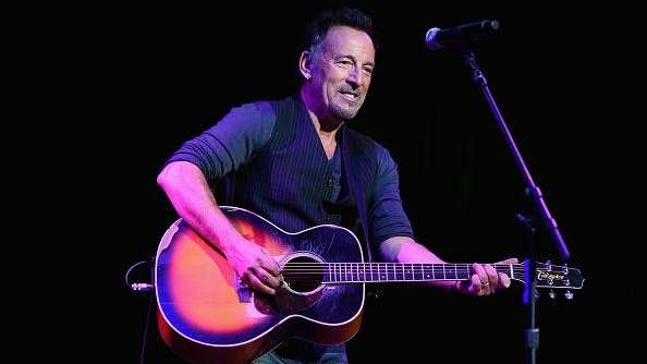 Bruce Springsteen performs at the 8th annual Stand