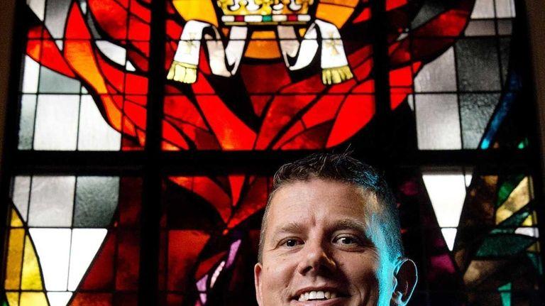 Father Joseph Fitzgerald at St. Pius Catholic Church