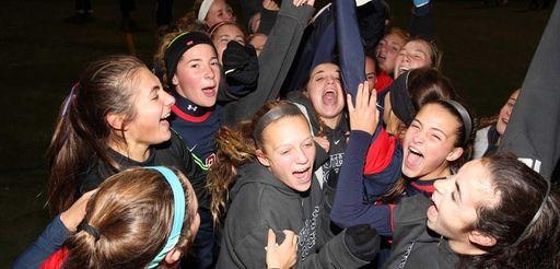 South Side celebrates after defeating Shoreham Wading River