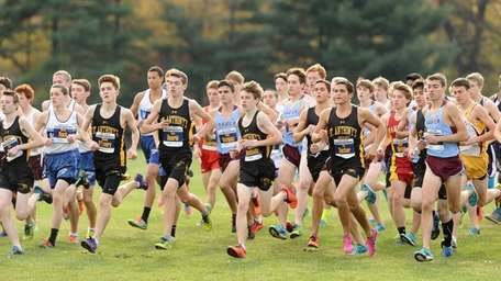 The start of the CHSAA Intersectionals cross country