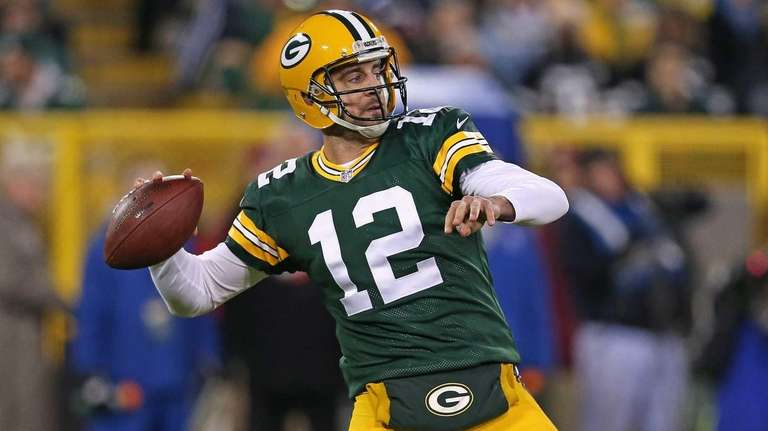 Aaron Rodgers Throws 6 TDs Green Bay Packers Rout Chicago Bears