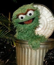 Oscar the Grouch once hosted GNN (Grouchy News