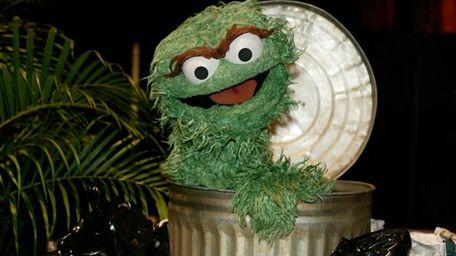 Oscar the Grouch will get a new trash