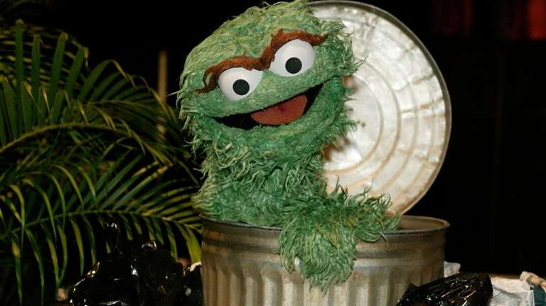 Oscar the Grouch will get a new trash