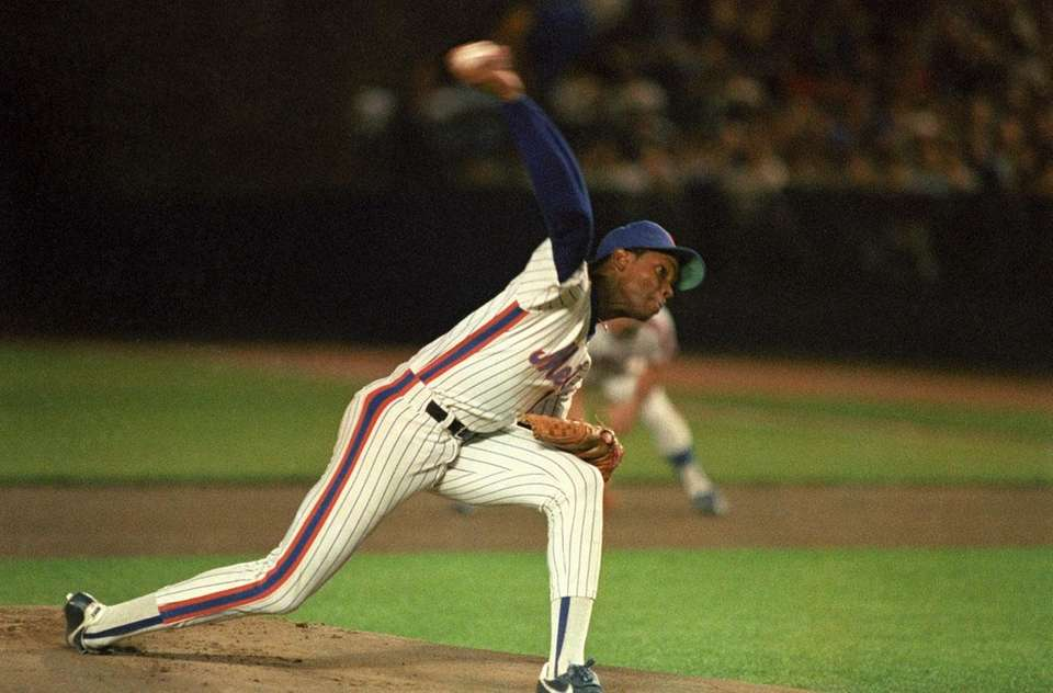 Dwight Gooden received 23 of 24 first place