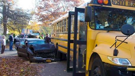 Suffolk County police said an accident involving a