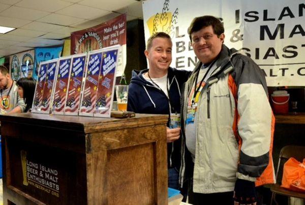 Members of the Long Island Beer and Malt