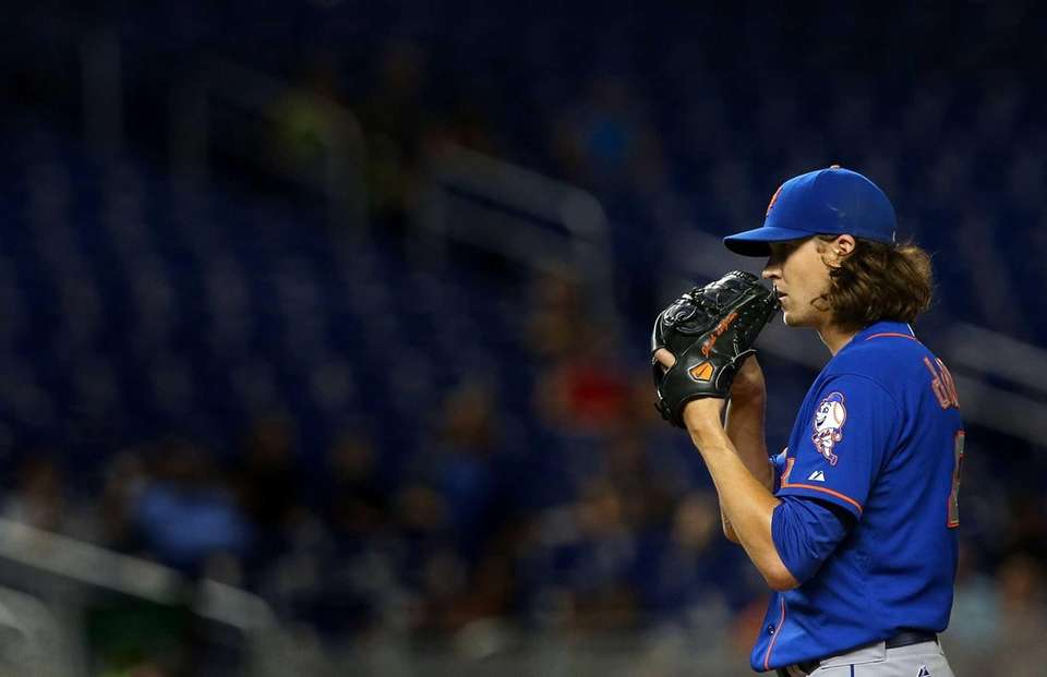 Jacob deGrom received 26 of 30 first-place votes
