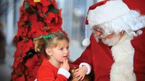 Pictures with Santa take place from 10 a.m.