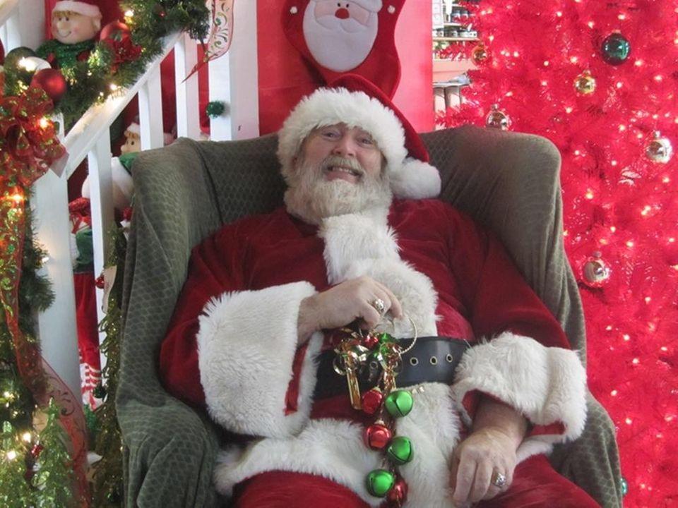 Santa arrives on Dec. 15 and Dec. 22