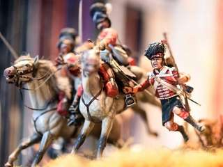 "These miniature figurines are part of the ""Scotland"