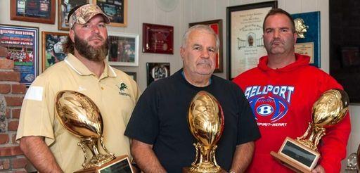 Jeff Cipp, left, Joe Cipp Sr., center, and
