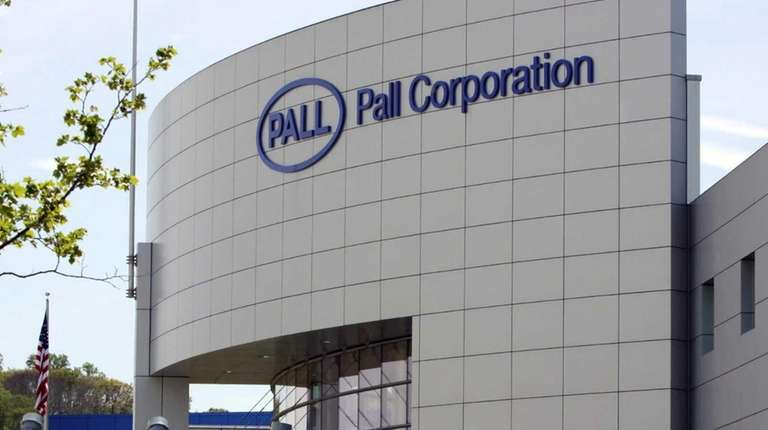 Pall Corp. headquarters in Port Washington on April