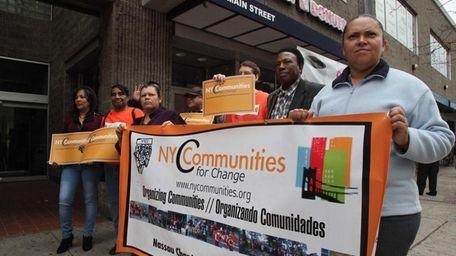 New York Communities for Change speak on Nov.