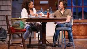 "Tracie Thoms and John Hawkes in ""Lost Lake,"""