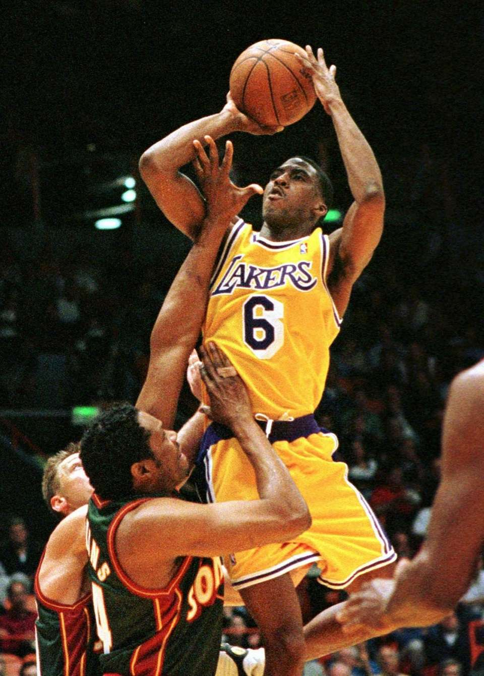 EDDIE JONES, West\ Los Angeles Lakers Jones was
