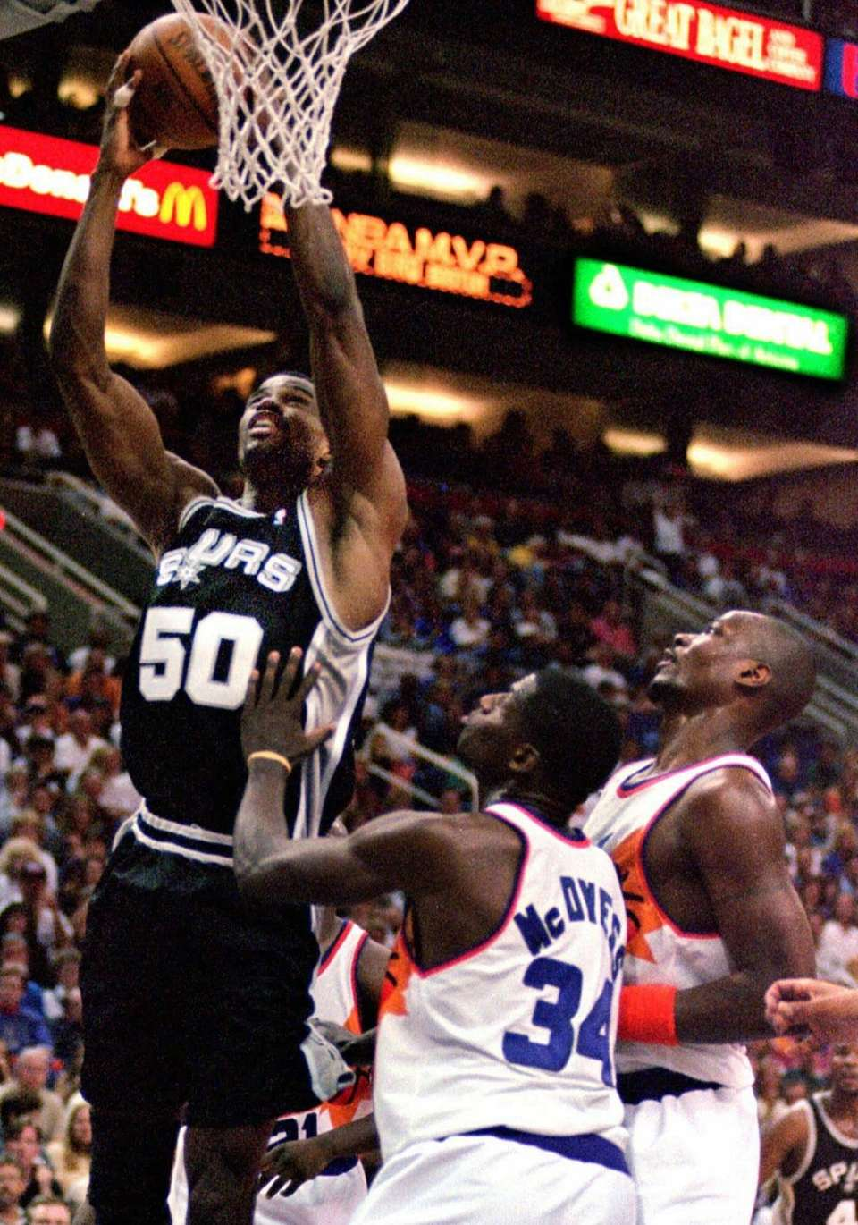 DAVID ROBINSON, West San Antonio Spurs