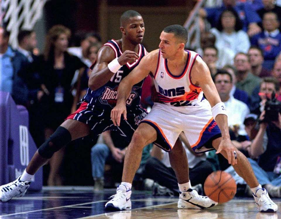 JASON KIDD, West Phoenix Suns Kidd was named
