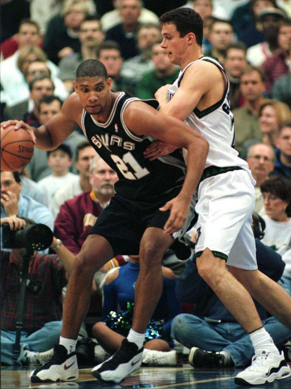 TIM DUNCAN, West San Antonio Spurs Along with