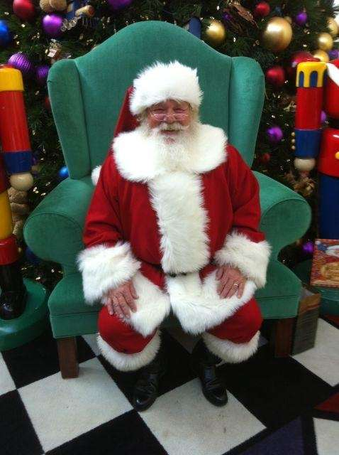 Check out Santa at the Broadway Commons in