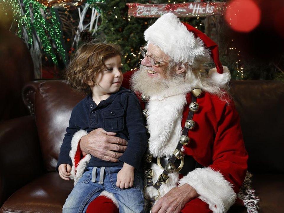 Santa will be at Hicks Nurseries (100 Jericho