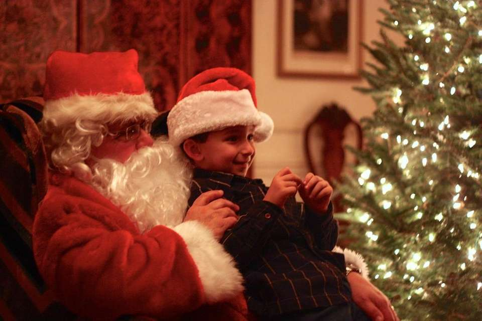 The Holiday Celebration with Santa takes place Nov.