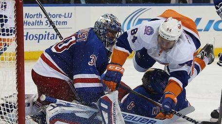 Mikhail Grabovski #84 of the New York Islanders