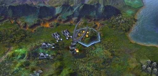 A screenshot of the gameplay in Firaxis Games'