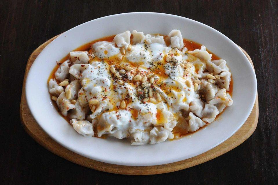 Ephesus, Massapequa Park: Chef-owner Funda Duygun's culinary skill