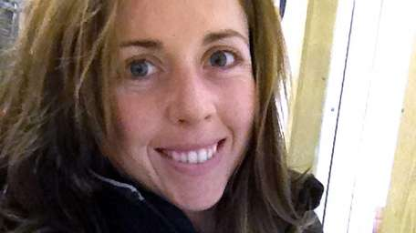 Carolann McGee, 25, is assistant trainer to horse