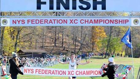 Northport's Mike Brannigan wins the New York State