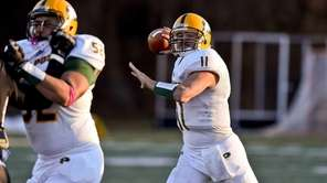 LIU Post quarterback Steven Laurino passes during a