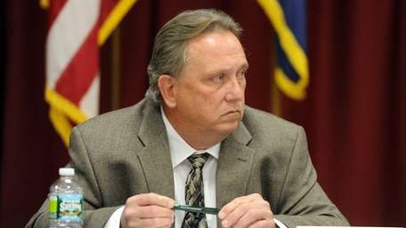 Councilman Thomas J. McCarthy is shown in a