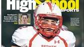 East Islip's Jack Hannigan made the cover of