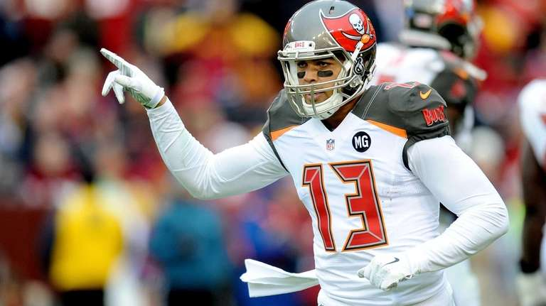 Wide receiver Mike Evans of the Tampa Bay