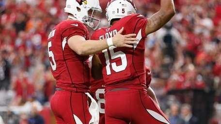 Wide receiver Michael Floyd #15 of the Arizona