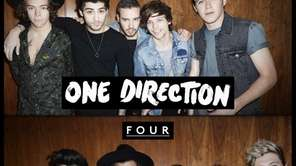 """Four,"" the latest album by One Direction."