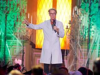 "Bill Nye onstage at ""Hub Network's First Annual"