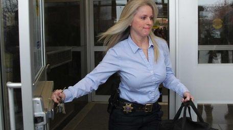 Alicia Boudouris, a Nassau County Deputy sheriff, declined