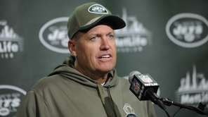 New York Jets head coach Rex Ryan speaks