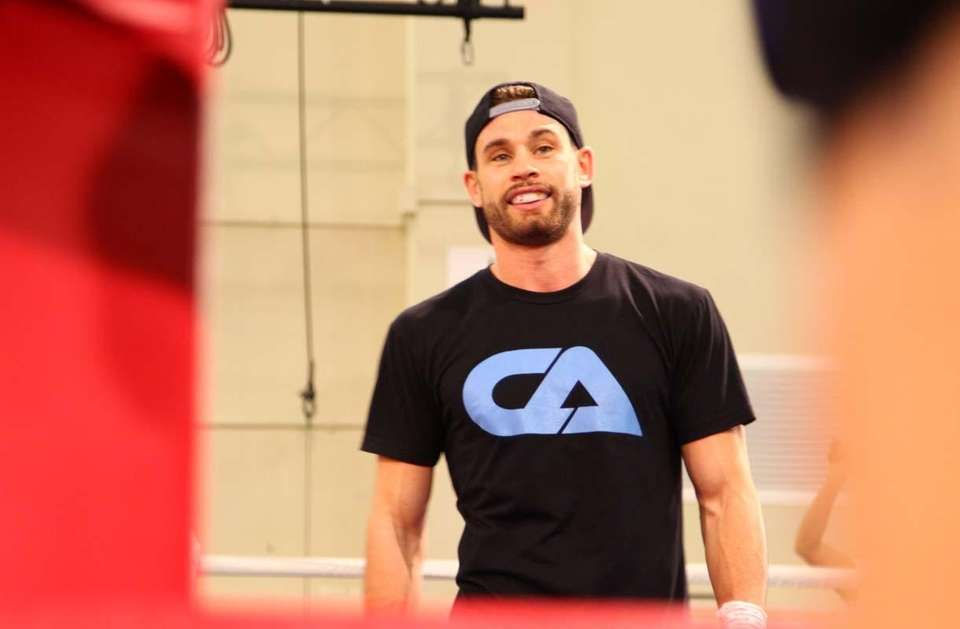 The undefeated Chris Algieri prepares for his open