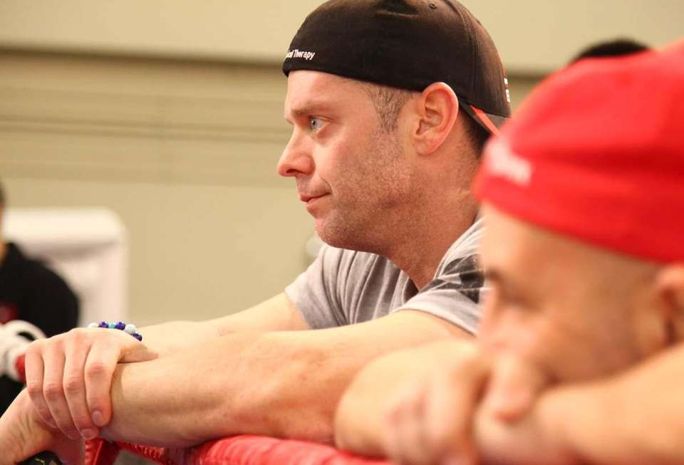 Mike Camp, Chris Algieri's strength and conditioning coach,