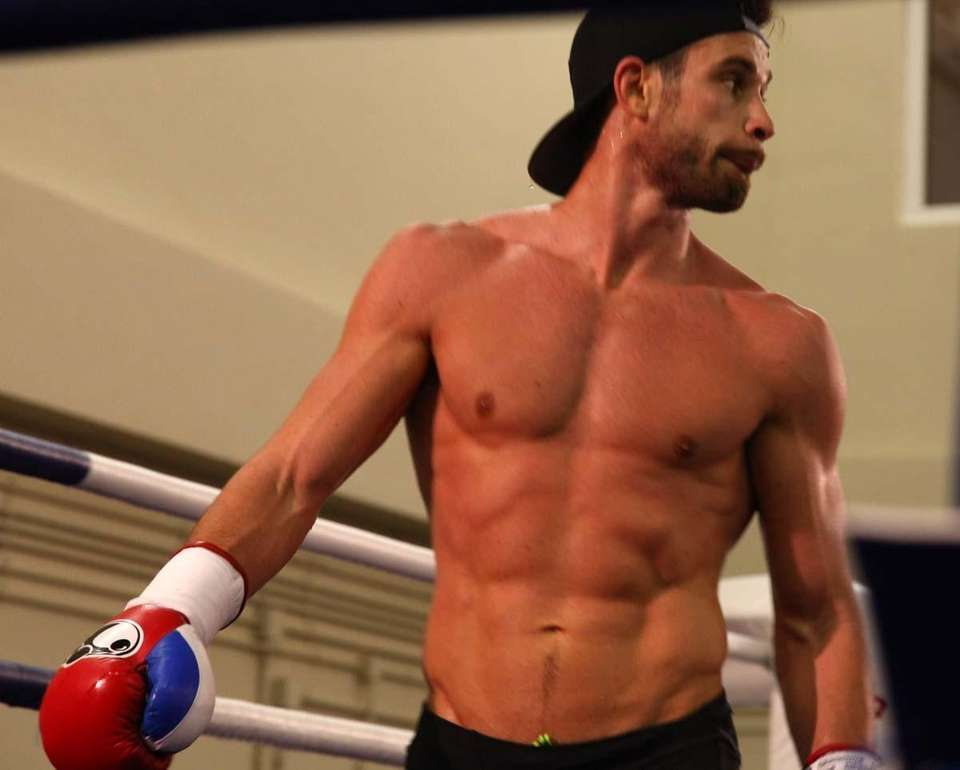 Chris Algieri, who has a master's degree in